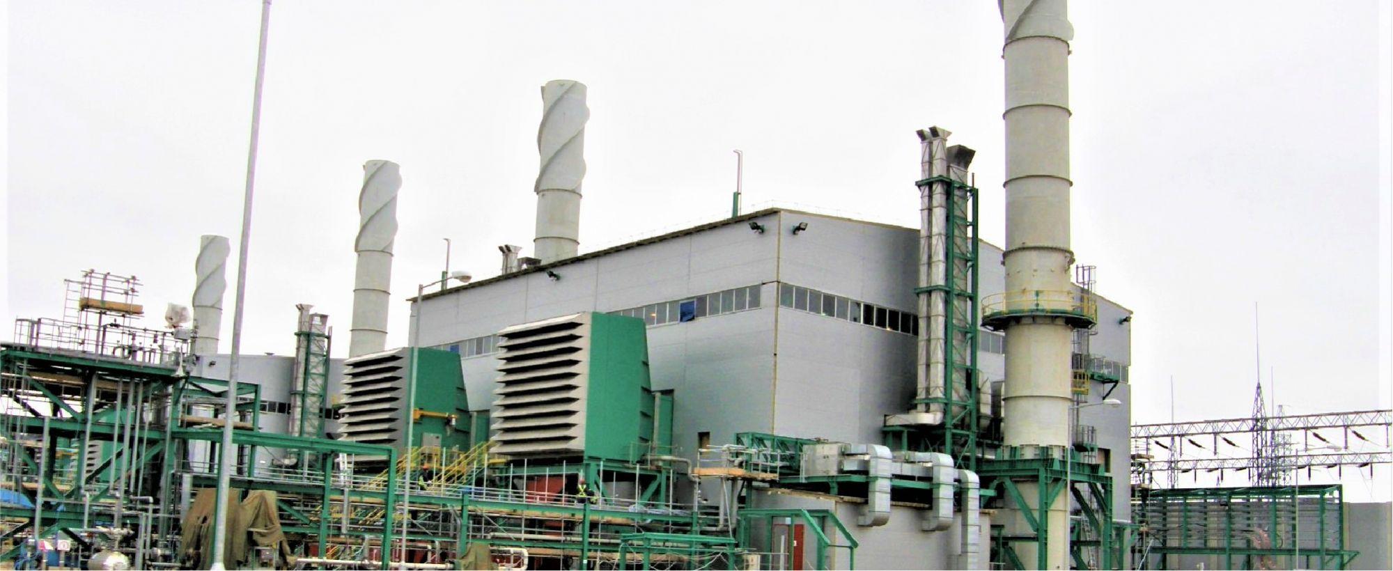Agip KCO.  Power Generation Plant